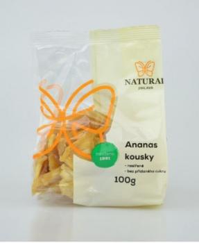 ANANAS - nesířený 100 g