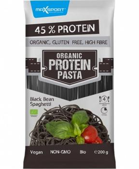 TĚSTOVINY Z ČERNÝCH FAZOLÍ BIO 200 g špagety,fazole,čená fazole,bílkovinové těstoviny,bílkoviny,vegan,bez gmo,vláknina,střeva,dieta,hubnutí