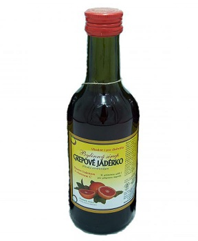GREPOVÉ JADÉRKO - sirup 250 ml