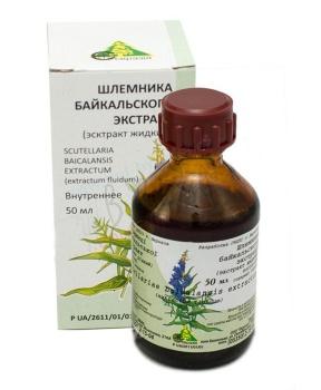ŠIŠÁK BAJKALSKÝ extrakt 50 ml
