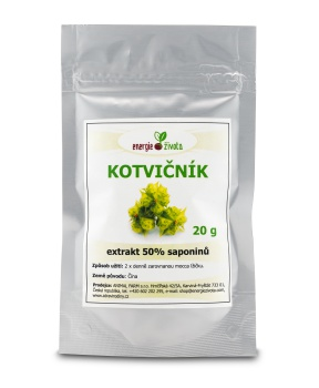 KOTVIČNÍK extrakt 50% 20 g