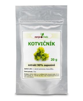 KOTVIČNÍK extrakt 90% 20 g