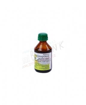 ELEUTEROKOK tinktura 50 ml eleuterokok, eleuterokok tinktura, slabost, vyčerpání, únava, imunita, horní cesty dýchací, krevní oběh, mozek