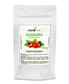 GUARANA extrakt 20 g