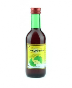 GINKGO - bylinný sirup 250 ml