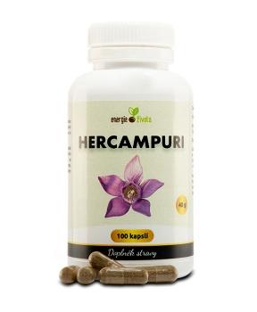 HERCAMPURI 400 mg 100 tob. játra,cirhóza,cukrovka,detoxikace,pálení žáhy,hubnutí,žlučník