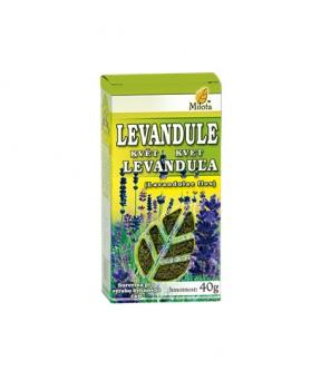 LEVANDULE KVĚT 30 g levandule květ čaj, úzkost, uklidnění