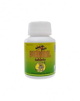 GVARANAL tablety přírodní  120 tablet guarana, energie, přírodní zdroj kofeinu, přírodní stimulant